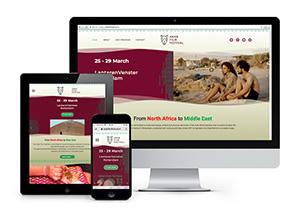 ArabFilmFestival.nl - Responsive & CMS website