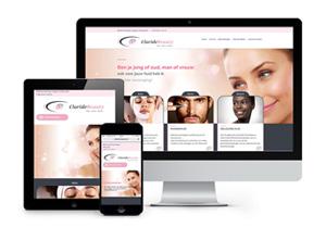 Claride Beauty - Responsive website
