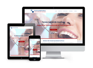 Tandarts Koolhaas - Responsive & CMS website