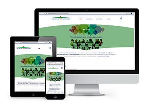 Laat het van twee kanten komen - responsive & CMS website